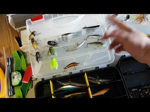 Bass Fishing gear for beginners (kayak set up)