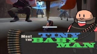 TF2 Fun Griefing - meet the Tiny Heavy