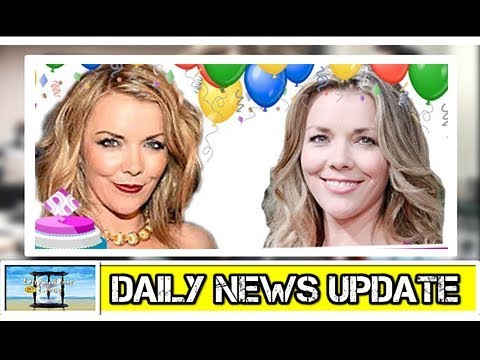 DOOL Daily  Update  DAYS Christie clark's birthday with these gorgeous pictures!