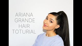 Ariana Grande Hair Tutorial 2019 / Spilling the Tea on where Ari gets HER hair!