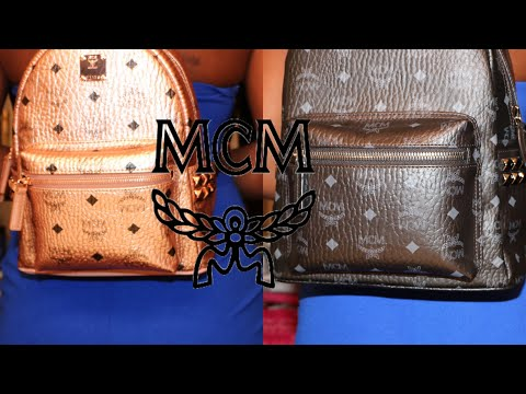 What's in my bag ? MCM Stark Bookbag thumbnail