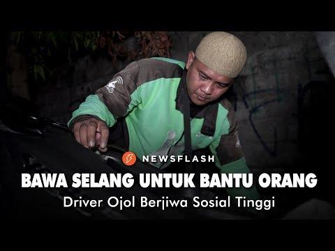 Driver Ojol, Bawa Peralatan untuk Bantu Orang di Jalan | Newsflash