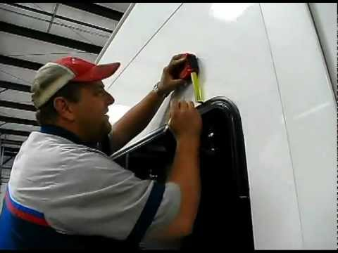 Rv Window Awning Installation Youtube