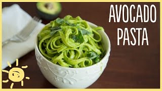 Meg | Avocado Pasta (easy, Healthy, Delicious Dinner Recipe)