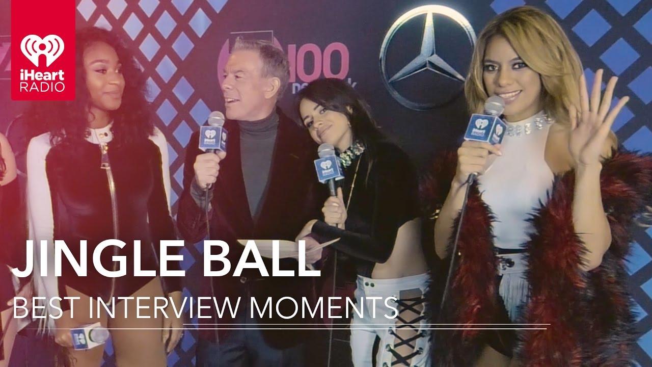 Niall Horan + Ariana Grande + Fifth Harmony | Jingle Ball 2016 Best Interview Moments