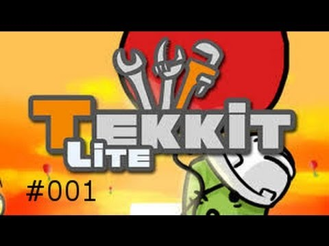 Tekkit Lite: Quarry mit Solar Energie - #001[German/Deutsch]