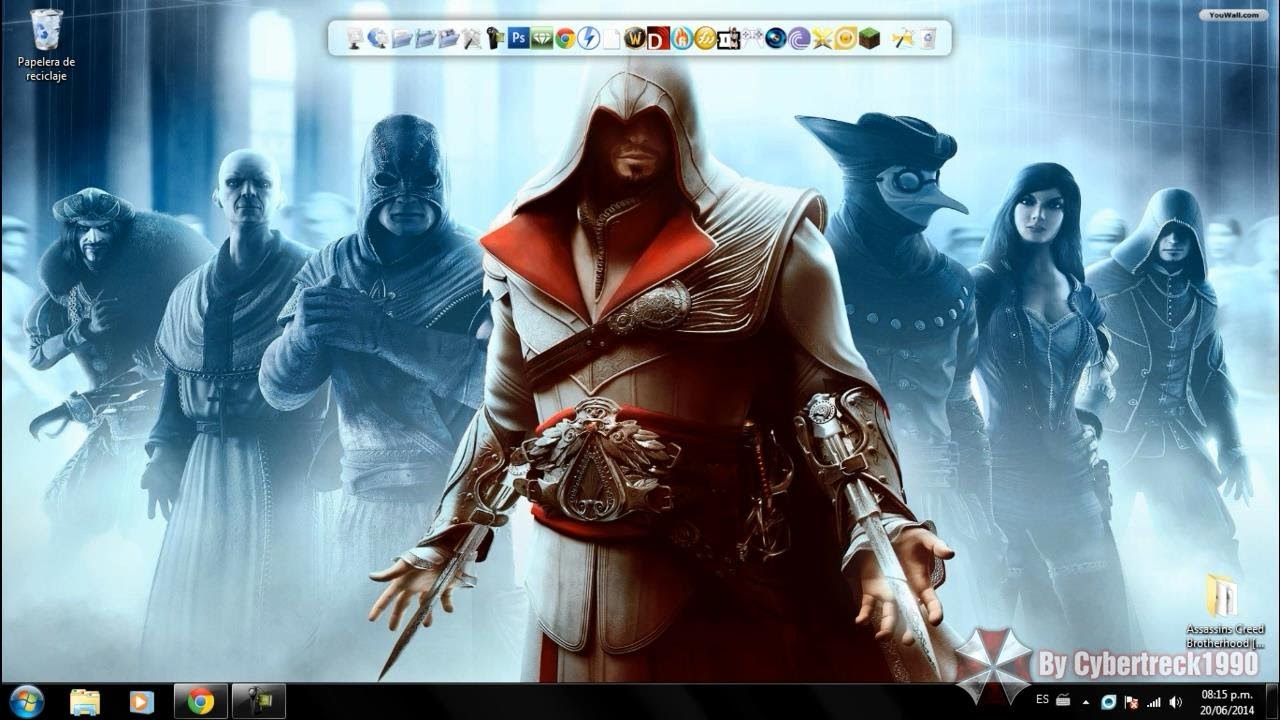 Descargar e Instalar Assassins Creed Brotherhood PC - HD