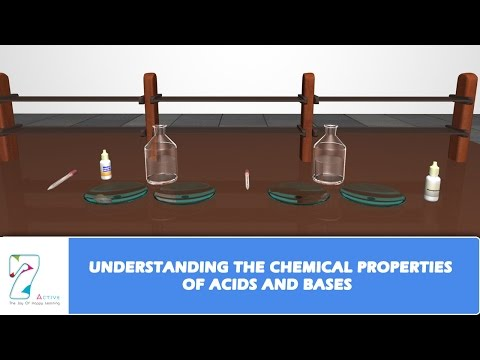 UNDERSTANDING THE CHEMICAL PROPERTIES OF ACIDS AND BASES