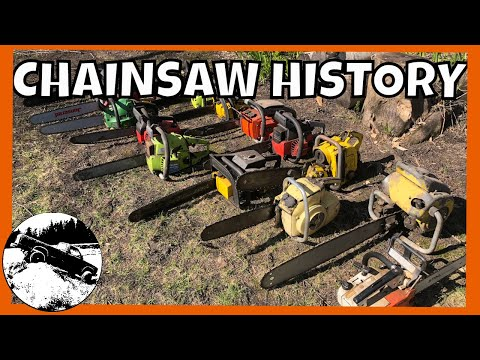 All About Chainsaws! History, Barn Find Collection, & A Special 1949 Saw