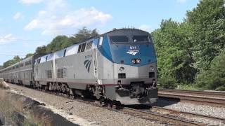 Amtrak Auto Train Leaves for Florida 5-22-15