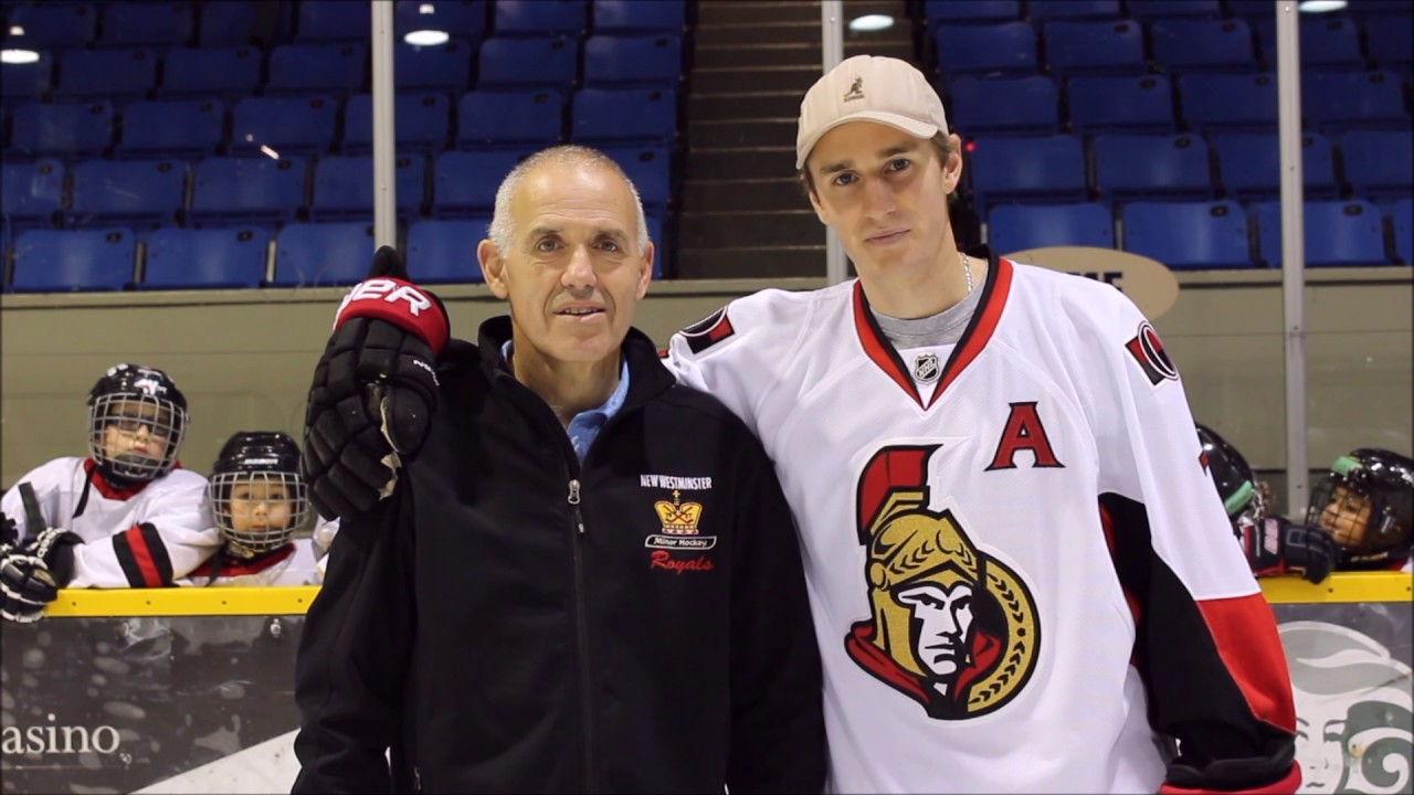 Kyle Turris His Dad Bruce Encourage New Westminster Kids To Play Hockey Youtube
