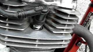 Honda XR 125 - Bruit moteur - Cliquetis suspects