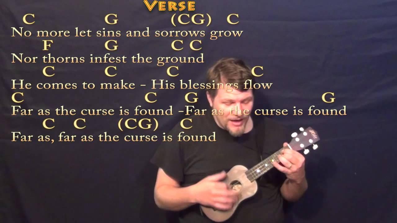 Joy To The World Ukulele Cover Lesson In C With Chordslyrics