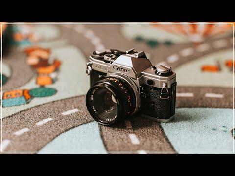 Canon AE-1 Filmkamera Erfahrungsbericht Analogfotografie In 2019