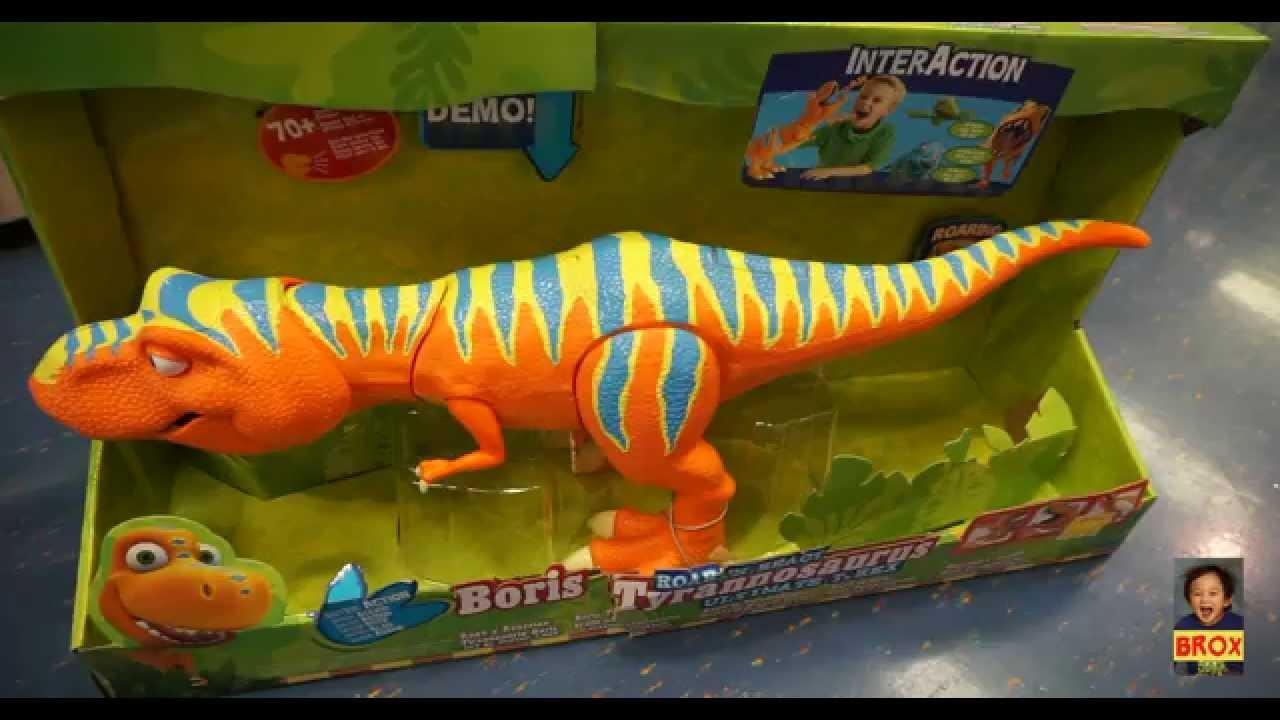 Boris Tyrannosaurus - Dinosaur Train - InterAction Roar 'N ...