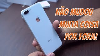 iPhone 8 Plus Unboxing Brasil 2017