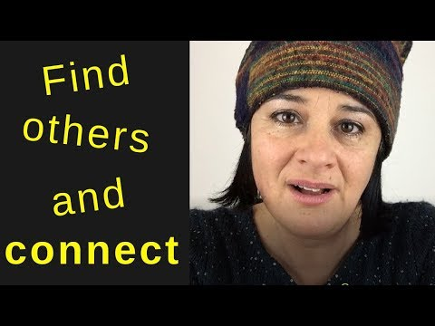 Find others with similar experiences to you and connect on a deeper level.