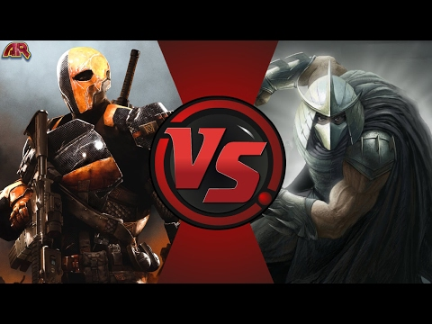 DEATHSTROKE vs SHREDDER! (DC Comics vs TMNT) Cartoon Fight Club Episode 158
