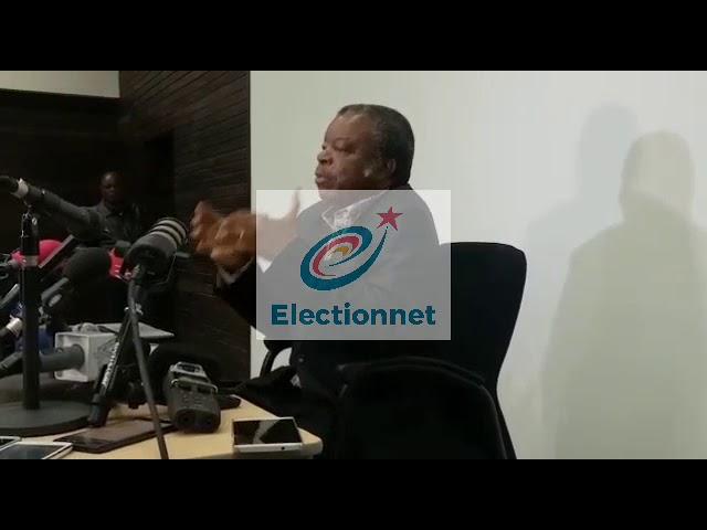 Conférence de presse du Dr Muyembe sur l'évolution de la Covid-19 en RDC