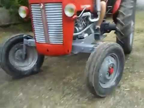 Rnovation Tracteur Massey Ferguson 25 YouTube