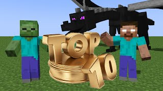 Top 10 Funny Monster School Minecraft Animations 2014 2015