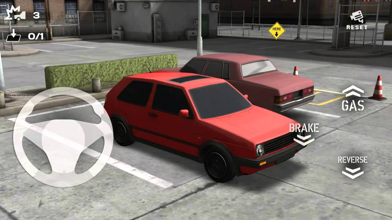 Wonderful Backyard Parking 3D Android Gameplay + Download