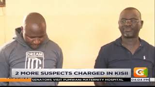 2 suspects charged in Kisii over Sharon Otieno's death