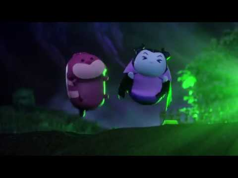 Disney Цум-Цум - TSUM TSUM SPOOK | Ужастик - сезон3эпизод10 - мультфильм для самых маленьких малышей