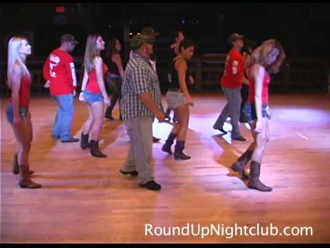 Round Up Line Dancers Perform The Aw Naw by Chris Young Dance