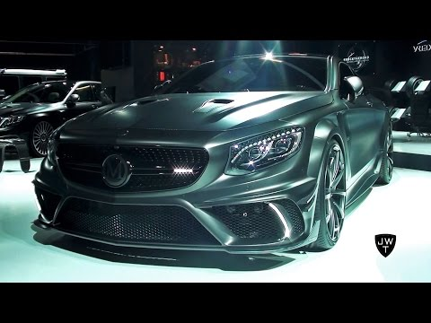 Heavily Modified 1000HP Mansory Mercedes S63 AMG Coupe Black Edition! - IAA Frankfurt 2015