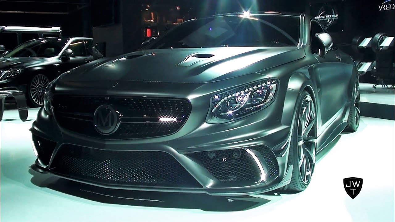 Heavily Modified 1000hp Mansory Mercedes S63 Amg Coupe Black Edition Iaa Frankfurt 2017