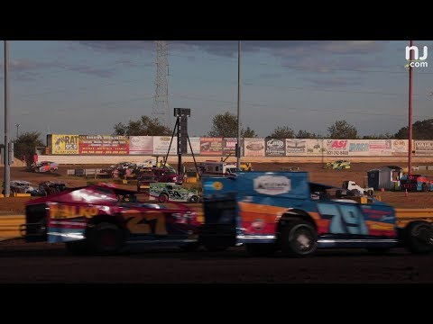 Here's a closer look at New Egypt Speedway's racetrack