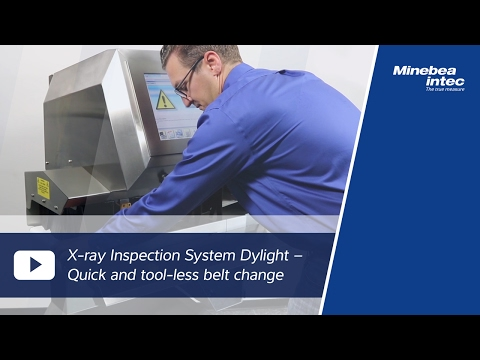 (EN) X-ray Inspection System Dylight – Quick and tool-less belt change