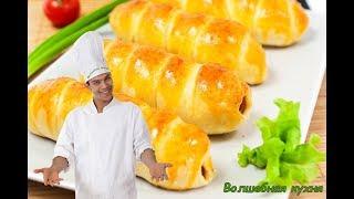 Как сделать Медовые Сосиски в слоёном тесте с кунжутом. Быстрый завтрак или ужин