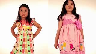Two Mix Dress Tutu Bayi - Dress Anak - Baju Anak 4031