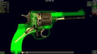 Nagant M1895 Revolver Operation
