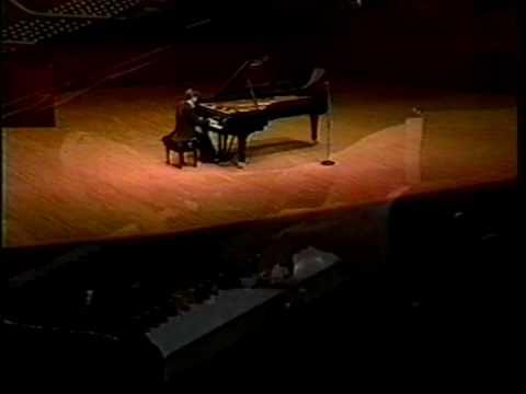 Alexei Sultanov performs Chopin Etude #12 , Tokyo 1999
