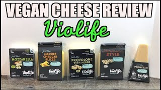 VEGAN Cheese Review (How they Melt Stretch Taste) Violife