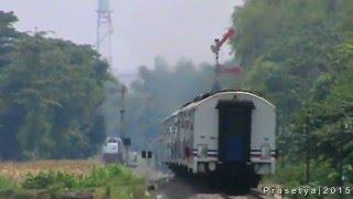 KA 102 Malioboro Ekspress hampir pertahanan sinyal masuk Susuhan