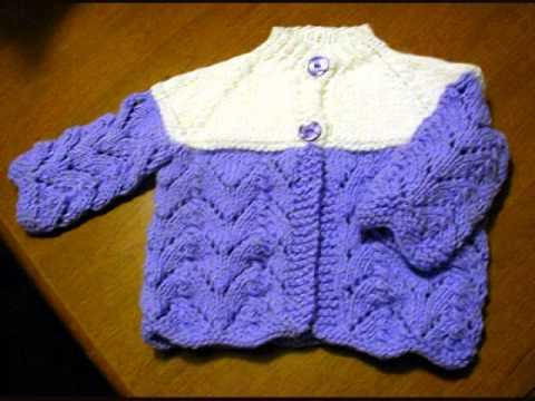 Free Knitting Patterns For Babies Youtube