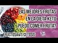 🍓LAS MEJORES FRUTAS EN LA DIETA KETO | PUEDO COMER FRUTAS EN LA DIETA KETO? | Manu Echeverri