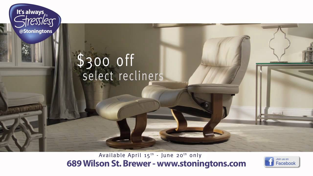 Stoningtons Furniture u0026 Flooring - Brewer Maine - Itu0027s ALWAYS Stressless at Stoningtons!  sc 1 st  YouTube & Stoningtons Furniture u0026 Flooring - Brewer Maine - Itu0027s ALWAYS ... islam-shia.org