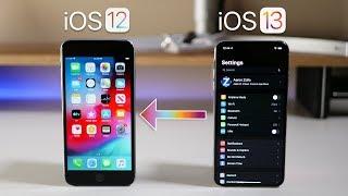 iOS 13 - How to go back to iOS 12