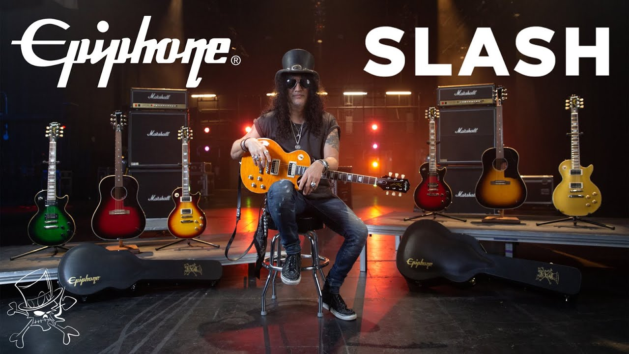 Epiphone's NEW Slash Collection - The Ultimate Les Paul Lineup, ALL Under £1,000!