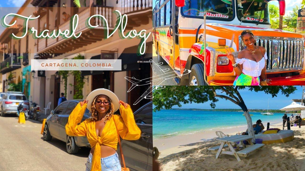 🇨🇴 Cartagena, Colombia Vacation  Travel Vlog  Palenque Tour  iamLindaElaine
