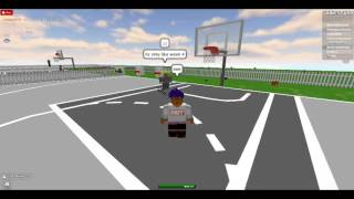 [Free Basketball at roblox] Crossover on 1SC and dunk it