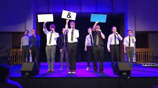Familiar Ring - Cougar Fight Song (Rise and Shout) - BYU A Cappella Jam, 11 Apr 2018