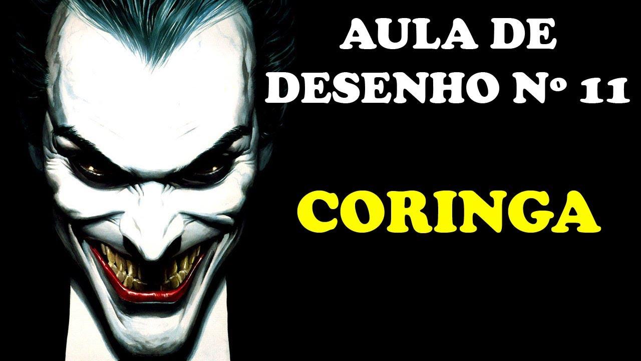 AULA DE DESENHO Nº 11: CORINGA - YouTube