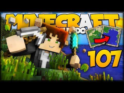 FIZ UM OCEANO NO MINECRAFT!? // Meu Mundo #107 // Minecraft