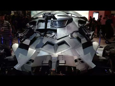 Justice League Batmobile Revealed At SDCC